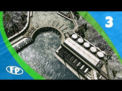 Cities Skylines: Port Aleutia - Part 3 - Detailing the Lunar Falls Dam
