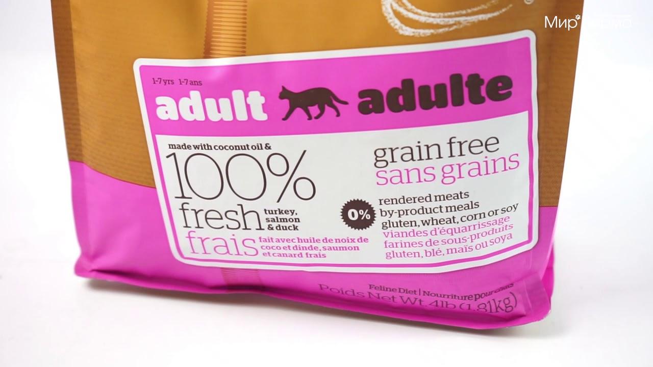 Беззерновой корм для кошек Now Fresh Grain Free Adult Cat Recipe индейкой ,уткой и овощами