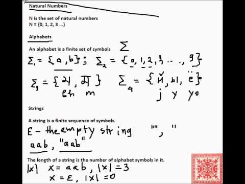 Theory of Computation: Mathematical Preliminaries (Part 01)