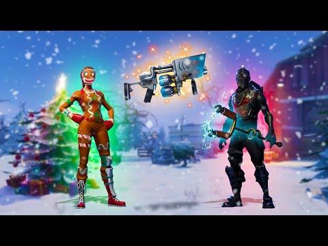 CHRISTMAS UPDATE! *NEW WEAPON, SKINS, DANCES & MORE!* | Fortnite Battle Royale