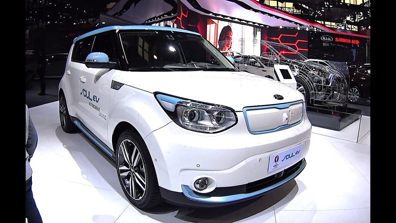 Kia Soul Ev New Electric And Hybrid Vehicle Youtube