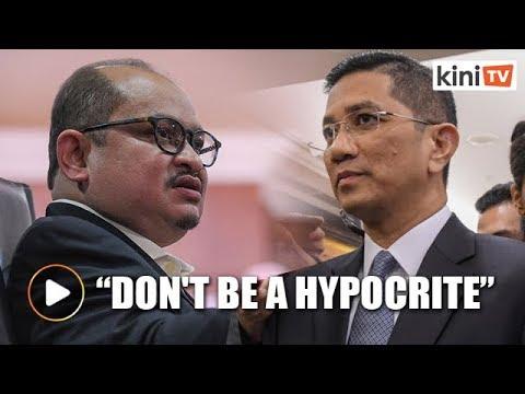 'Don't be a hypocrite' - Azmin fires back at Shamsul