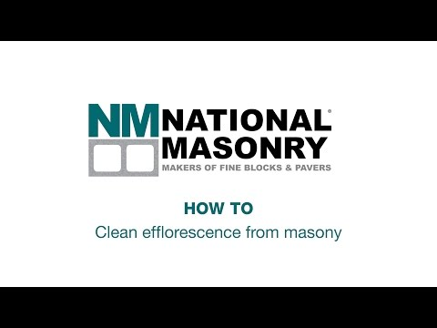 How To Clean Efflorescence