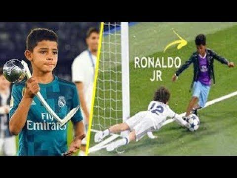 Cristiano Ronaldo Jr Increíbles Jugadas y Goles | Futuro CRACK del Fútbol