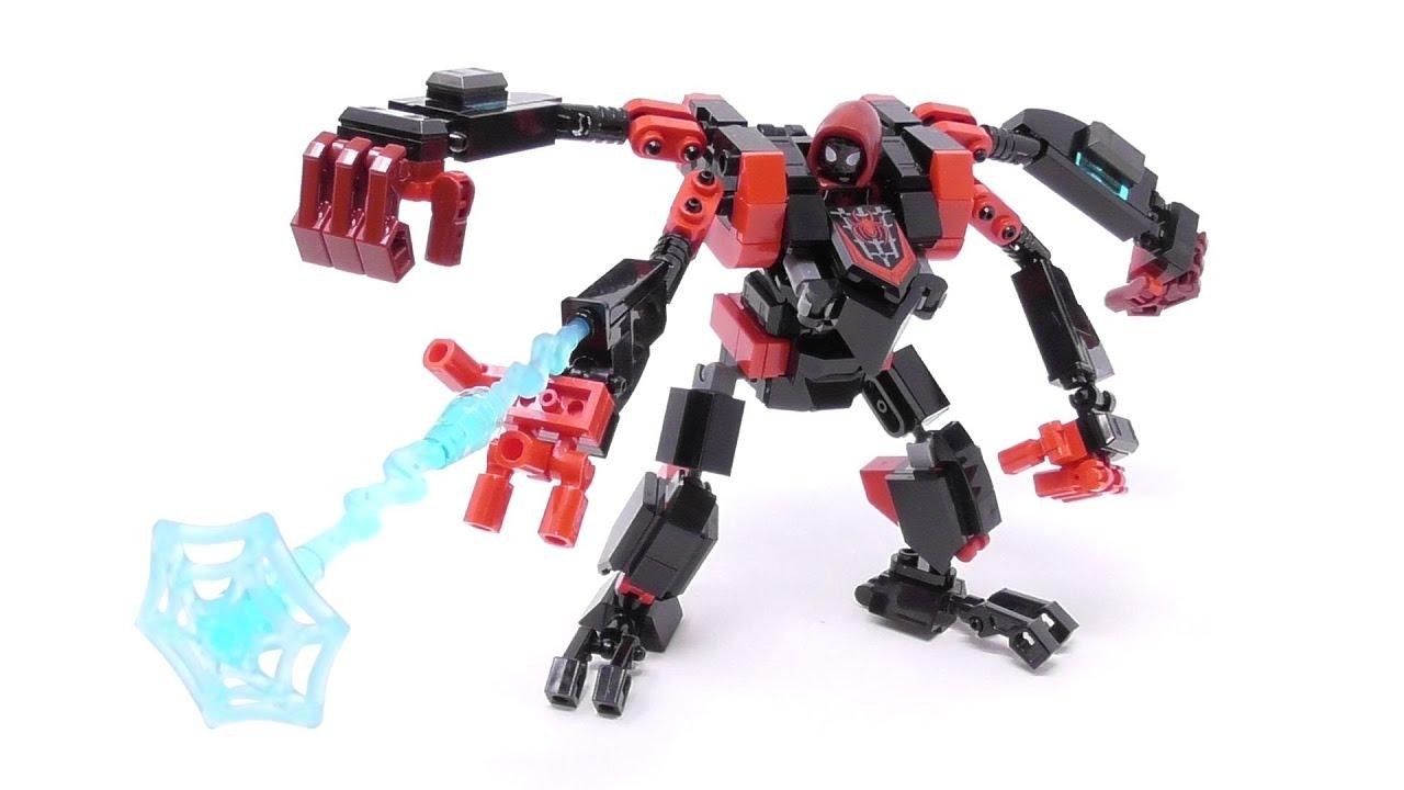 LEGO Miles Morales Mech Upgrade!! - Build Video