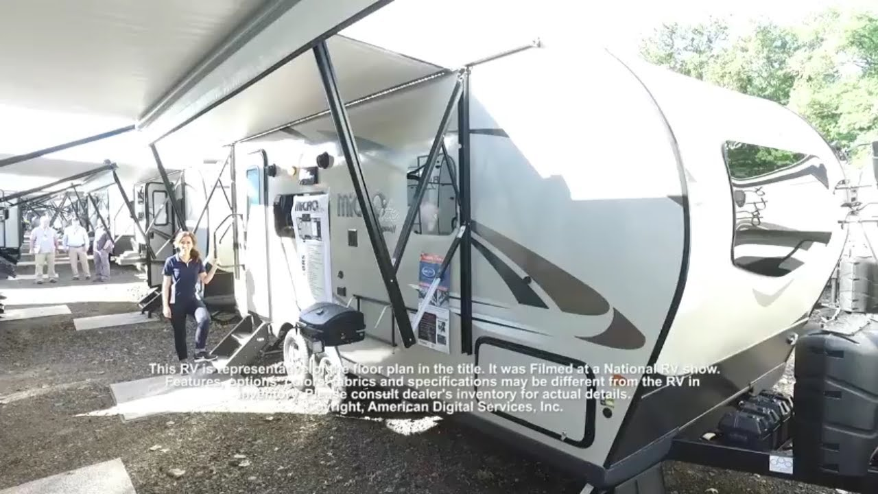 New 2019 Forest River RV Flagstaff Micro Lite 21FBRS Travel