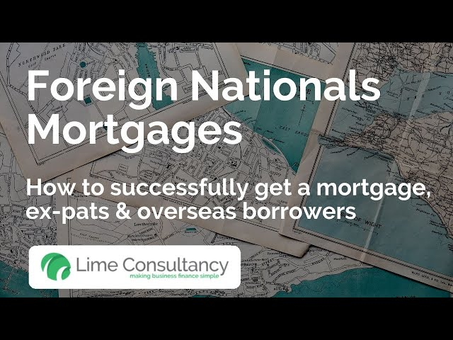 Buy to let  - Expats and foreign nationals, mortgages for expats