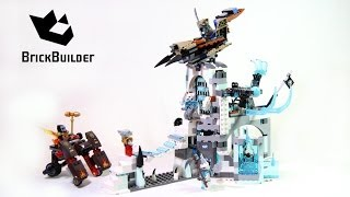 Lego Chima 70147 Sir Fangar's Ice Fortress Build And Review