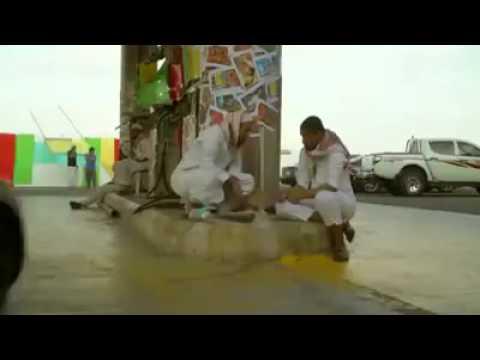 فيديو: شاهد ماذا سيحدث إذا عمل السعودي في محطة بنزين بالهند