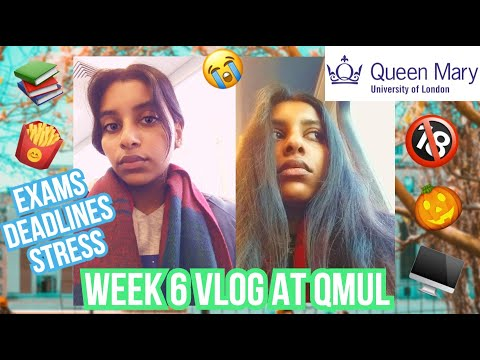 A WEEK IN MY LIFE AT Queen Mary University Of London (QMUL) | Elvia Kiara