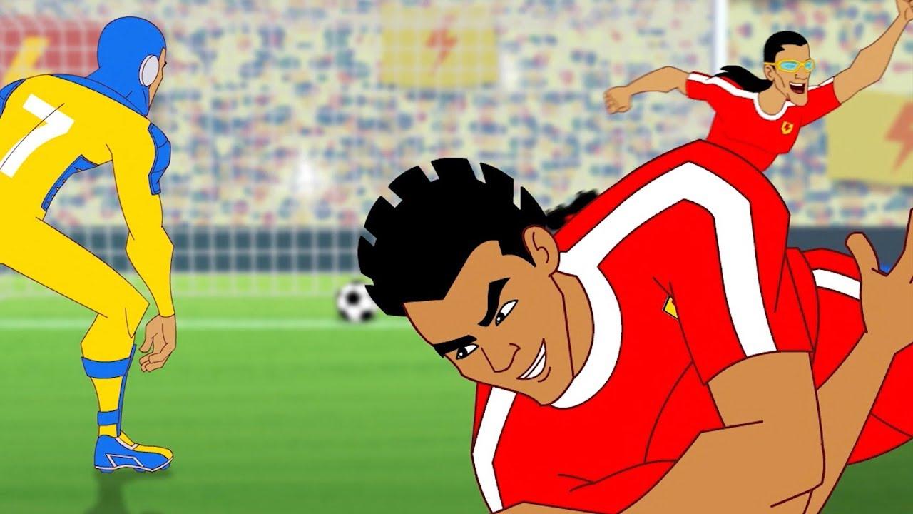 Download Supa Strikas   Cool Joe Loses His Groove   Soccer Cartoons for Kids   Sports Cartoon