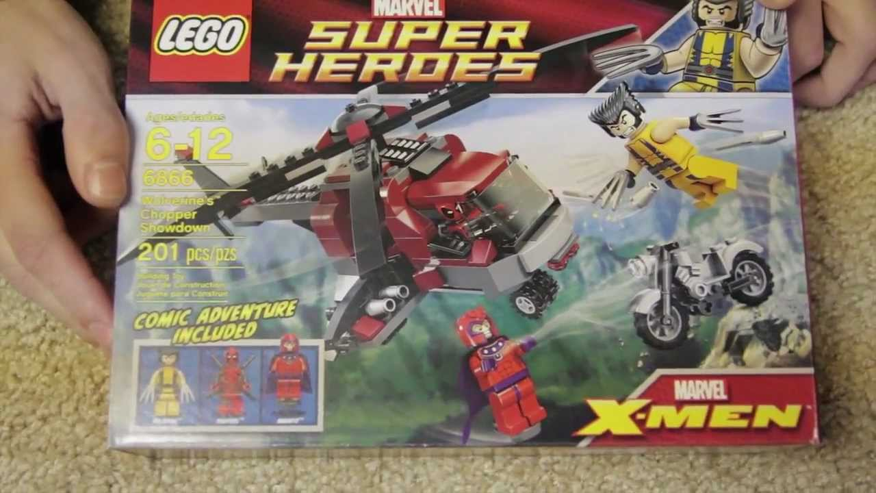 Lego Marvel Superheroes Review X Men Wolverines Chopper Showdown