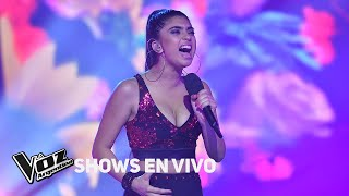 Shows en vivo #TeamAxel: Amorina canta Como la flor de Selena - La Voz Argentina 2018 YouTube Videos