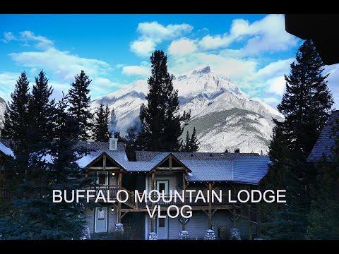 TRAVEL VLOG | Buffalo Mountain Lodge Getaway in Banff