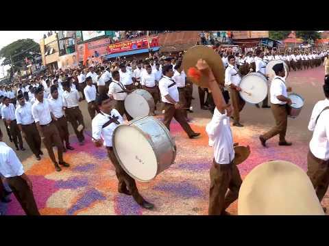 RSS pathasanchalan in Bagalkot 2017