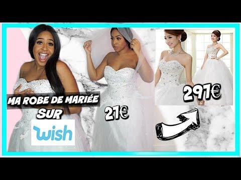 Jai Acheté Ma Robe De Mariée 27 Sur Wish Ce Que Jai