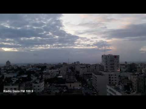 Gaza Time Lapse