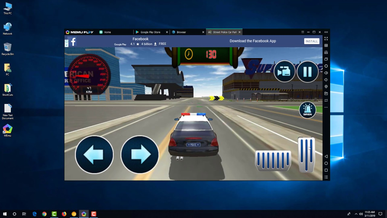 Police Car Parking Free 3D Driving Games on Windows Links in the  Description 2019 Simulator