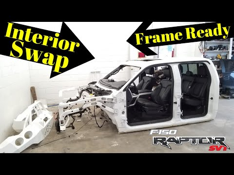 Wrecked 2011 Ford Raptor SVT bought from Copart Part 11 Rebuild