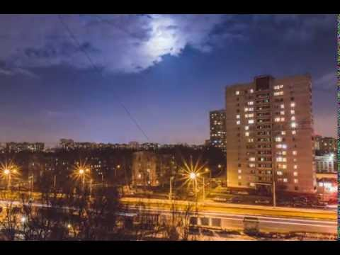 Timelapse - View from the window ( Russia, Moscow )