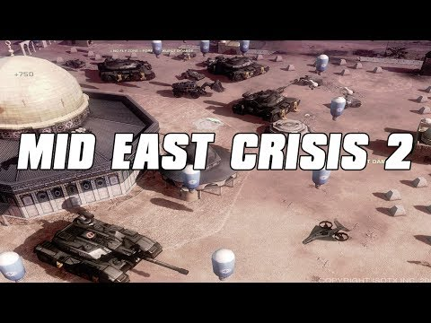 Mideast Crisis 2 Battle of Temple Mount - Command and Conquer 3 Mod