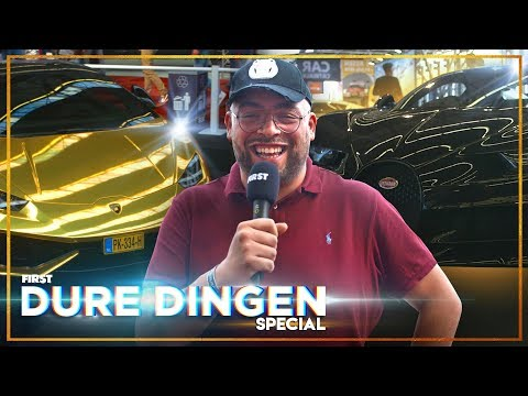 QUCEE checkt AUTO VAN €4 MILJOEN: DURE DINGEN | FIRST