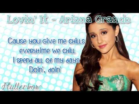 Ariana Grande  - Lovin' It Lyrics Video HD Lyrics On Screen