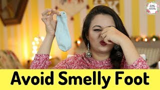 Smelly Foot Hacks || Get Rid of Smelly Foot
