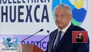 En termoeléctrica de Morelos no se va a imponer nada: AMLO