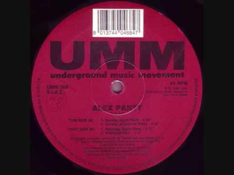 Alex Party - Alex Party (Saturday Night Party) (1993)