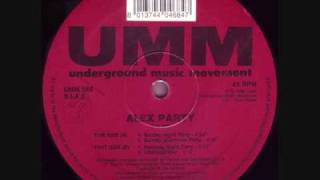 Alex Party - Alex Party (Saturday Night Party) (1993)