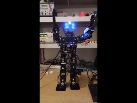 darwin op robot clone op1 youtube. Black Bedroom Furniture Sets. Home Design Ideas