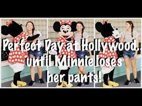 Perfect Day At Hollywood...until Minnie Loses Her Pants! | DCP Fall 2016