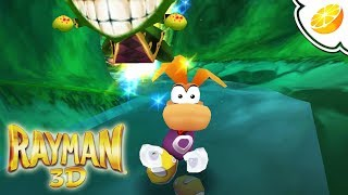 Rayman 3D | Citra Emulator Canary 451 (GPU Shaders, Great Speeds!) [1080p] | Nintendo 3DS