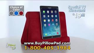 pillow pad tablet stand commercial as
