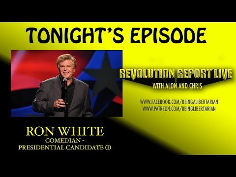 "Ron White Talks Presidential Run; Rips Donald Trump & Calls Ted Cruz ""Unqualified"" - RRL #7"