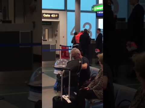 Crazy Passenger at stansted airport Jan 9th 2017