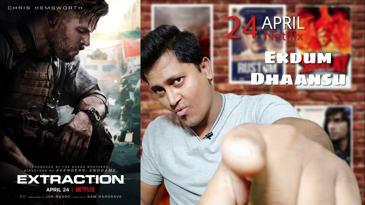Reaction On Extraction Official Hindi Trailer Netflix India The Reel Real Youtube