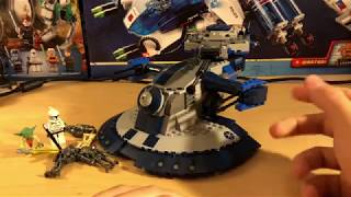 Lego Star Wars - AAT 8018 Review (обзор на русском)