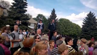 Митинг в Курахово в поддержку ДНР - наиболее полное видео ч.1