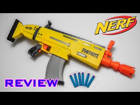 REVIEW] Nerf Fortnite AR-L | Stryfe Reskin | Judahboy Media