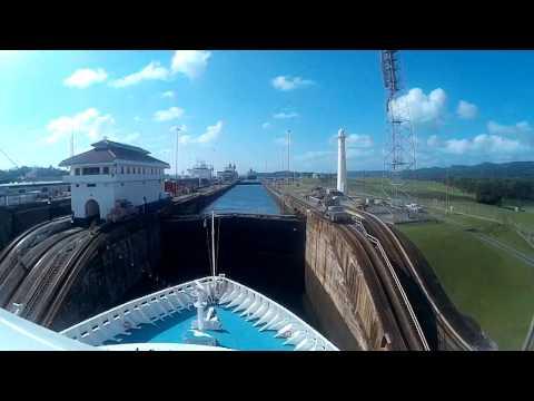 Panama Kanal Durchfahrt