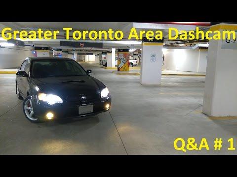 Greater Toronto Area Dashcam: Q&A #1