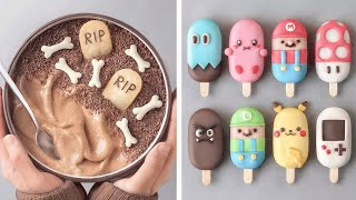 So Easy Colorful Cake Popsicle For Summer  Yummy Chocolate Cake Tutorials  So Yummy Cookies