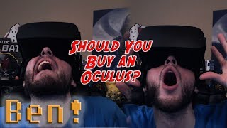 5 Reasons Why You Should (and Shouldn't) Buy an Oculus Rift | Ben's OP Game Show Ep. 90 (Pt. 4)