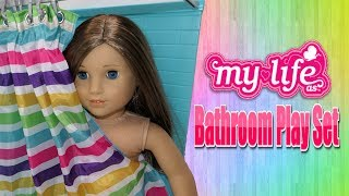 My Life As Bathroom Playset For 18 inch dolls!!