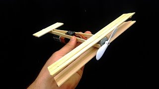 How to Make A Plane With DC Motor