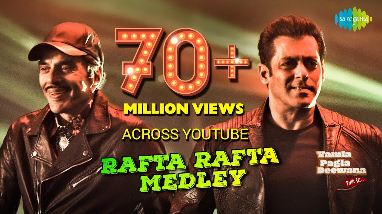 Rafta Rafta Dekho Medley | Salman Khan | Yamla Pagla Deewana Phir Se | Dharmendra | Sonakshi | Rekha