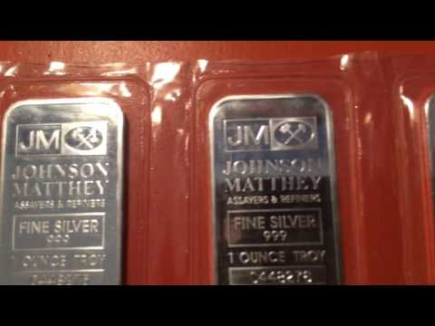 Fake silver from JM Bullion off eBay