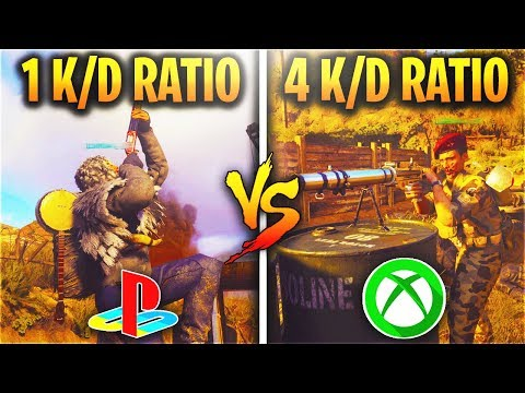 WHICH CONSOLE HAS BETTER PLAYERS?! (PS4 PLAYERS VS. XBOX ONE PLAYERS)